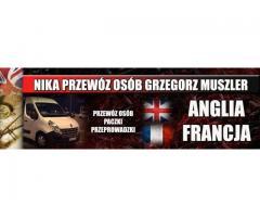 BUSY POLSKA - FRANCJA