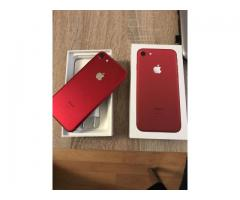 Apple iPhone 7 32GB Smartfon.€ 370/Apple IPhone 7 -(RED) 128GB..€ 400