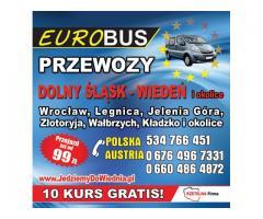 codziennie w Wiedniu,Graz,Krems